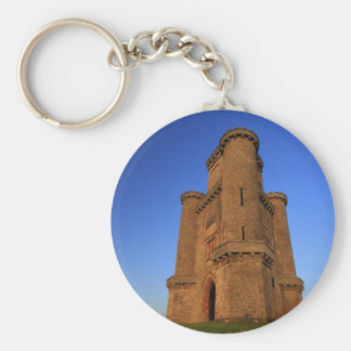 Paxton's Tower Basic Round Button Key Ring