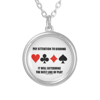 Pay Attention To Bidding Will Determine Best Line Round Pendant Necklace