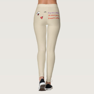 Pay me a drink ! leggings