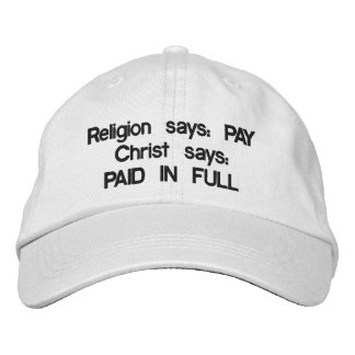 Pay or Paid in full? cap Embroidered Baseball Cap