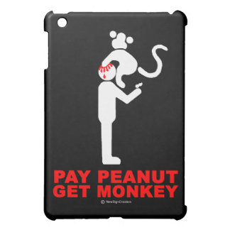 Pay peanut, get monkey cover for the iPad mini