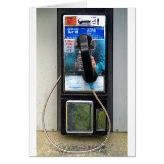 Pay Phone Greeting Card