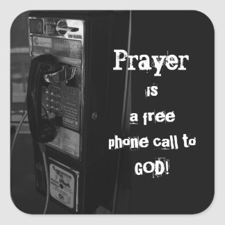 Pay Phone to God Stickers