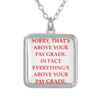 PAY SILVER PLATED NECKLACE