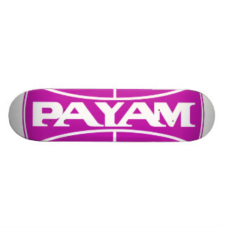 Payam Logo Deck Skate Deck