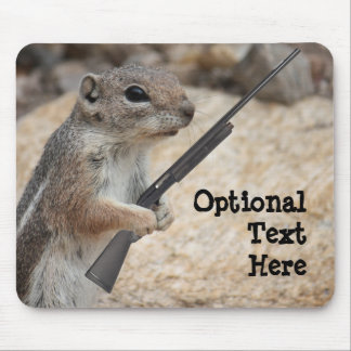 Payback Squirrel Customizable Mousepad