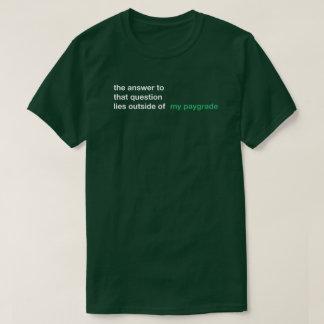 Paygrade T-Shirt