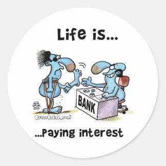 payin_interest round sticker