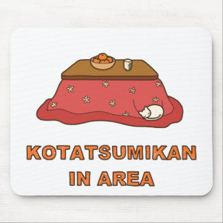 < Paying attention to foot warmer tangerine Mouse Pad