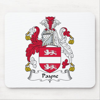 Payne Family Crest Mouse Pad