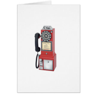 PAYPHONE GREETING CARD
