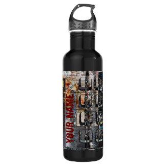 payphone keypad collage 710 ml water bottle
