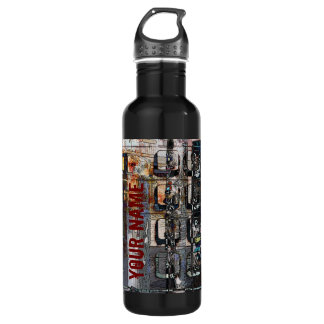 payphone keypad collage 710 ml water bottle