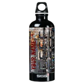 payphone keypad collage SIGG traveler 0.6L water bottle