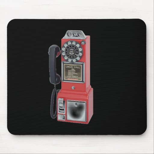 PAYPHONE MOUSE PAD