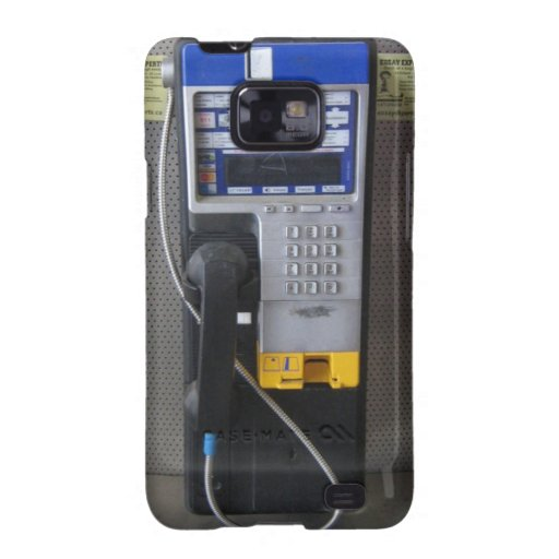 PayPhone Samsung Galaxy Phone Case Galaxy SII Cases