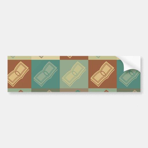 Payroll Pop Art Bumper Stickers