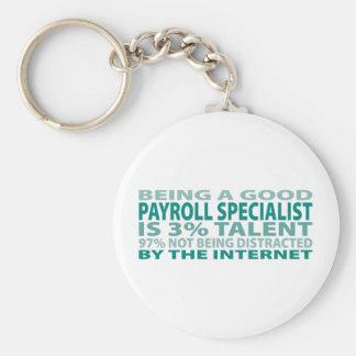 Payroll Specialist 3 Talent Key Chains