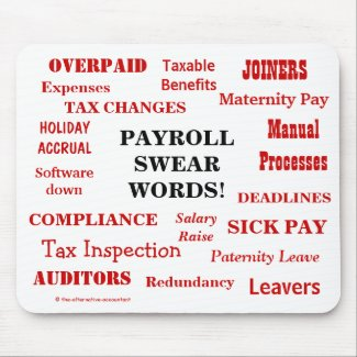 Payroll Swear Words! Annoying Funny Payroll Terms