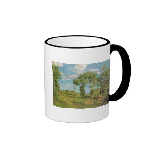 Paysage au bord du Lez 1870, Frederick Brazille Coffee Mugs