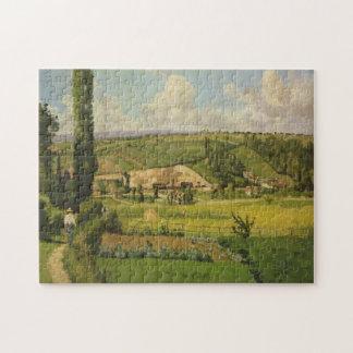 Paysage aux Patis, Pointoise Jigsaw Puzzle