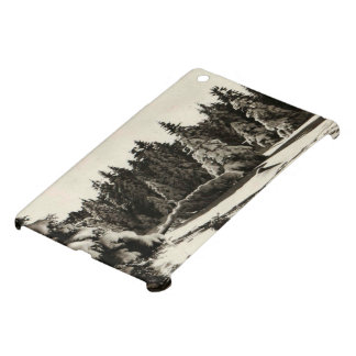 Paysage d'Hiver Winter in Jura France mountains iPad Mini Case