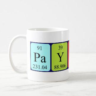 Payton name gifts t shirts art posters other gift ideas zazzle payton periodic table name mug urtaz Image collections