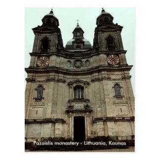 Pazaislis monastery | postcard