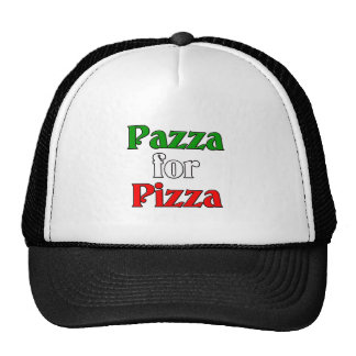 Pazza for Pizza Cap