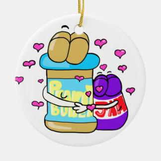 Pb&j Bestfreinds graphic Christmas Ornament