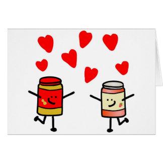"""PB&J Love"" Card"