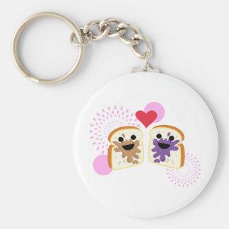 PB& J Love Key Ring