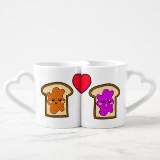 PB & J Lovers' Mugs Lovers Mug