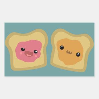 PB J Toast Stickers