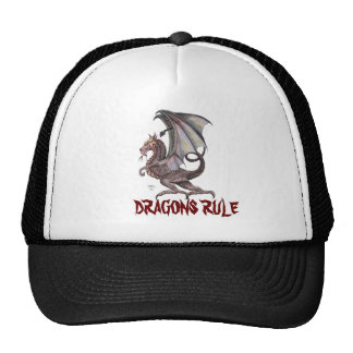 pbdragon, DRAGONS RULE Trucker Hat