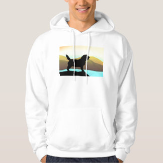 PBGV Dog By The Sea Hoodie