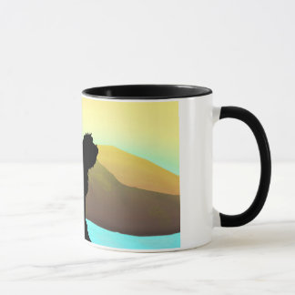 PBGV Dog By The Sea Mug