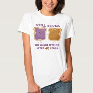 PBJ 40th Anniversary T Shirts