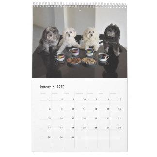PBJ Pack 2017 Calendar