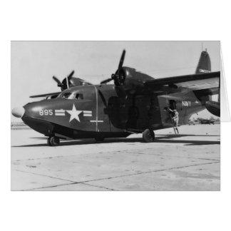 PBM Navy Seaplane Card