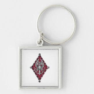 PBP Color Crest Key Ring