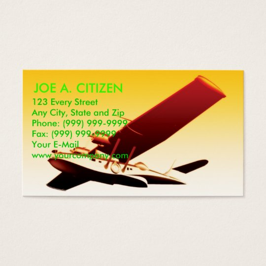 PBY Catalina flying boat Business Card