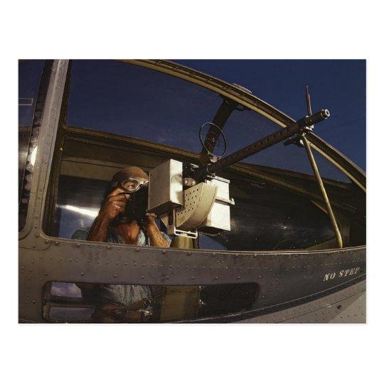 PBY Gunner Postcard