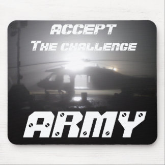 PC010061 ACCEPT The challenge ARMY Mouse Pads