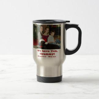 PC090017, We Love You, Grammy!Emily, Kara, Coli... Travel Mug