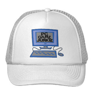 PC Game Junkie Hats