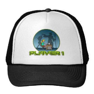 PC Gamer girl LAN PARTY Cap