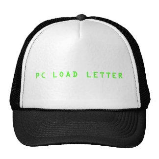 PC LOAD LETTER CAP