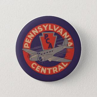 PCA Pennsylvania Central 6 Cm Round Badge