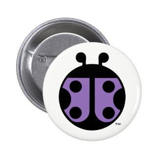 PCDH19 Alliance Ladybug Circle Pin